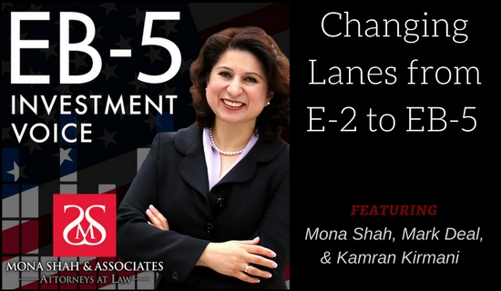Changing Lanes from E-2 to EB-5 with Kamran Kirmani of NuRide
