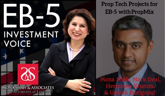 Prop Tech Projects for EB-5 with Umesh Harigopal of PropMix