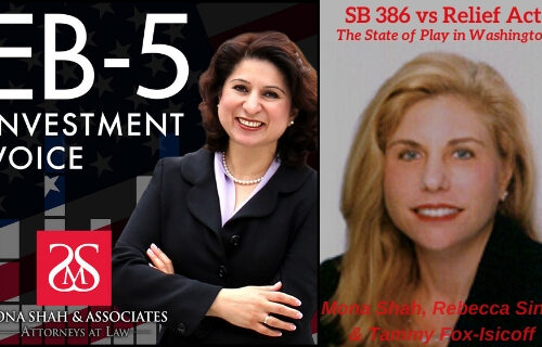 SB 386 vs Relief Act and the State of Play in Washington with & Tammy Fox-Isicoff