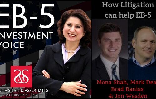 How Litigation can help EB-5 with Brad Banias and Jon Wasden