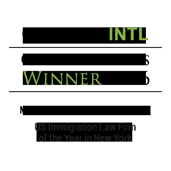 CorporateINTL global awards winner 2016 to Mona Shah & Associates, PLLC